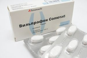 антибиотики при пневмонии_вильпрафен